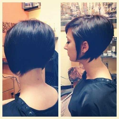 Short Bob Hairstyles 2018 Back View