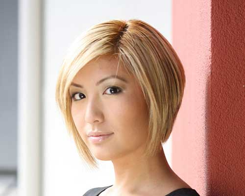 Fashionable Graduated Bob Haircut