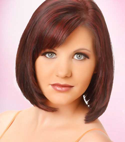 Bob Hairstyles for Thin Bangs Hair
