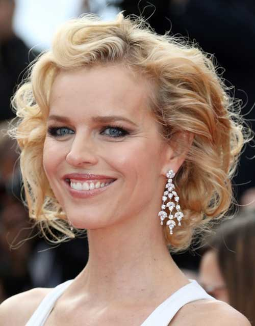 Short Haircuts for Curly Wavy Hair-17