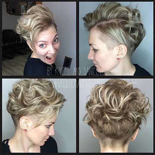 Short Curly Hairstyle - 22