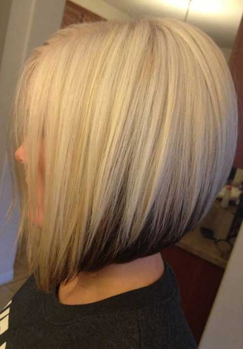 Best Two Colored Bob Haircuts 2018