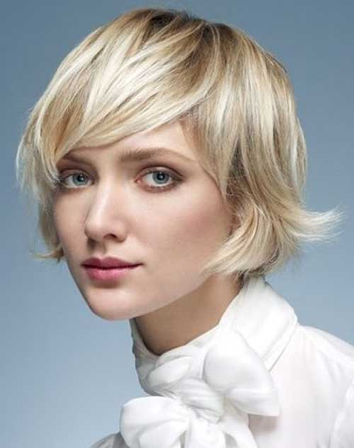 Short Hair for Round Faces-17