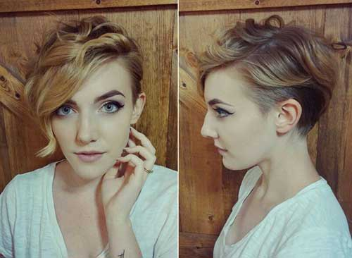 Short Curly Hairstyles 2018-20