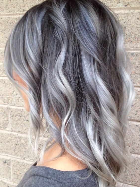 grey-balayage-hair-styles-pastel-hair-color-ideas-2018
